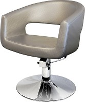"Hairway Friseurstuhl ""Retro"" Silber"