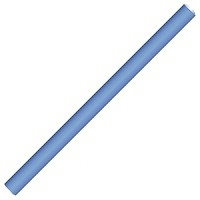 Hairway Flex-Wickler 25 cm blau